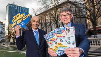 Belfast Chamber of Trade and Commerce welcomes the success of its campaign to have the 38th Deep RiverRock Belfast City Marathon's moved from May Day Bank
