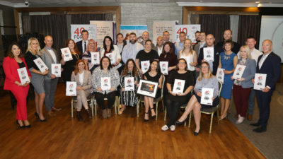40underforty finalists lunch