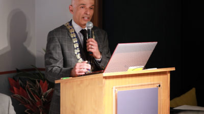 Rajesh Rana, Belfast Chamber President