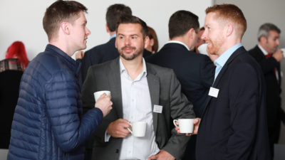 Morning Networking at Belfast Chamber Business Series event