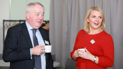 Morning networking session at Belfast Chamber Business Series event