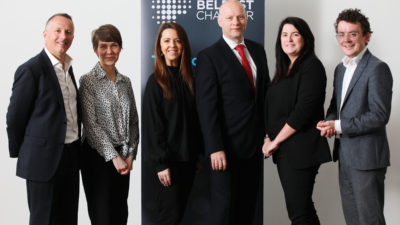Belfast Chamber Business Series in partnership with Belfast One, Destination CQ and Linen Quarter