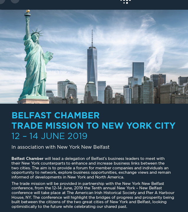 Trade Mission to New York
