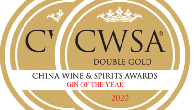 Ninth Wave Irish Gin, CWSA 2020, Double Gold Medal & Gin Of The Year