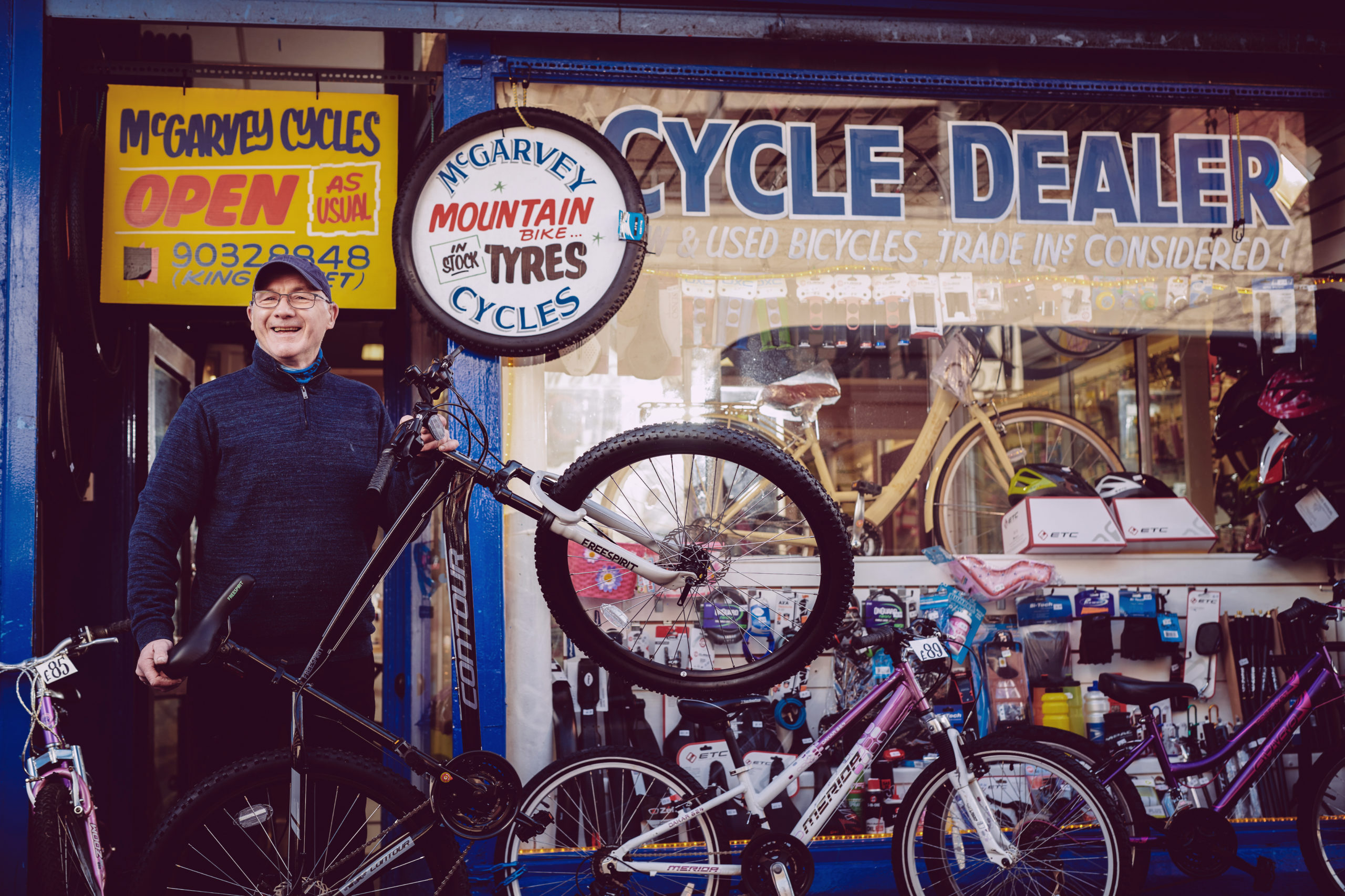 McGarvey Cycles. We are a long established family business serving cyclists for over 100 years. Our experience in supplying bicycle parts and accessories is second to none