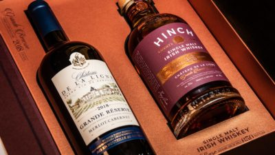 Hinch Irish Whiskey 18 Year Old Single Malt Chateau De La Ligne Finish 10