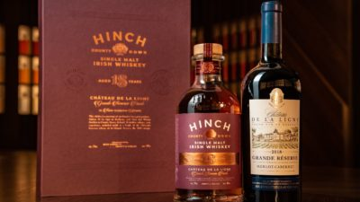 Hinch Irish Whiskey 18 Year Old Single Malt Chateau De La Ligne Finish 2 (1)