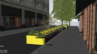 img 002 proposal    Long Boardwalk Parket, LinenHall Street, Belfast