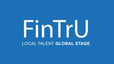 FinTrU Logo LTGS   Blue Background (5778x3258)