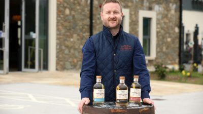 Aaron Flaherty Hinch Distillery