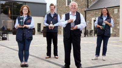 Francesca Owens, Alan Greer, Dr Terry Cross OBE & Claire McLernon (2)