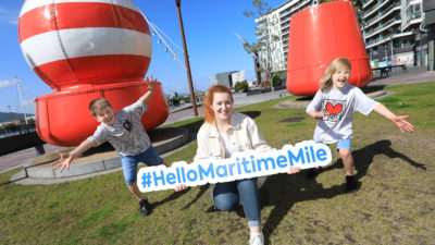 Hello Maritime Mile launch Pic 1